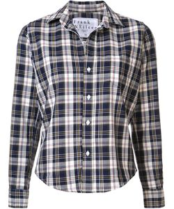 Frank & Eileen | Checked Cropped Shirt