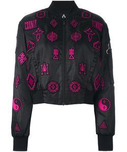 Marcelo Burlon County Of Milan   Lise Bomber Jacket Large