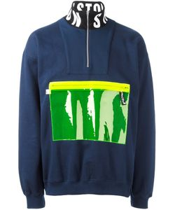 Christopher Shannon | Fluorescent Pocket Sweatshirt