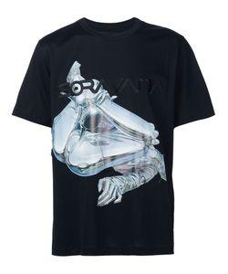 Juun.J   Robot Print T-Shirt