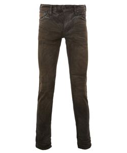 Mastercraft Union | Creased Effect Skinny Jeans 32