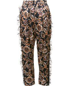 Rodarte | Print Tulle Detail Tapered Trousers
