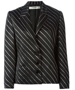 Jean Louis Scherrer Vintage | Diagonal Striped Skirt Suit