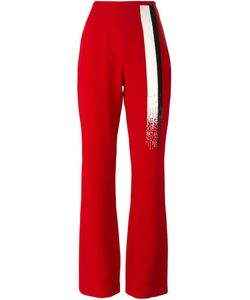 Jean Louis Scherrer Vintage | Embellished Bootcut Trousers