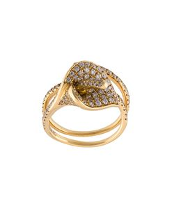 Anita Ko | Calla Lily Coil Diamond Ring