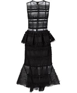 Natargeorgiou | Sheer Flared Dress