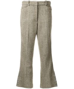 Simone Rocha | Houndstooth Flared Trousers