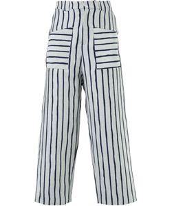 Agi & Sam | Striped Wide Leg Trousers