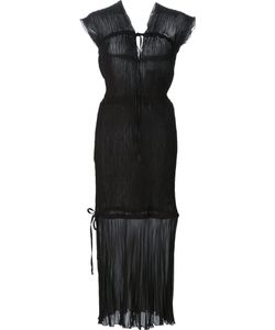 Barbara Casasola | Sheer Panel Dress