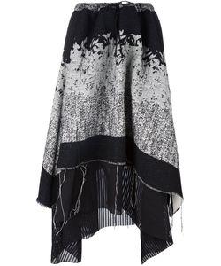A Tentative Atelier | Asymmetric Draped Skirt