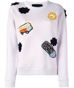 Michaela Buerger | Patched Sweatshirt