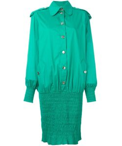 Moschino Vintage | Ruched Hem Shirt Dress
