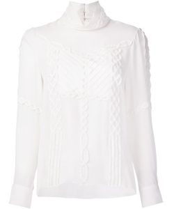Prabal Gurung | Mock Neck Blouse