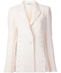 Prabal Gurung | Tonal Button Detail Blazer