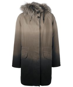 Army Yves Salomon   Gradient Parka Coat