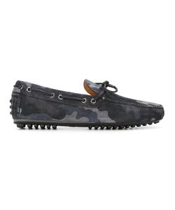 Car Shoe   Camouflage Print Boat Shoes