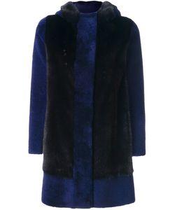 Blancha   Contrast Panel Coat