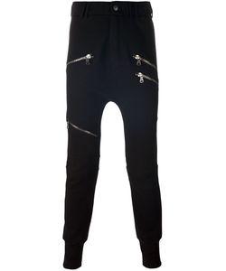 Pierre Balmain | Zip Detail Slim Fit Tapered Trousers 46