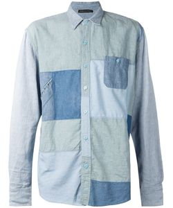 Longjourney | Denim Patchwork Shirt