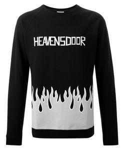 Fad Three | Flame Print Sweatshirt
