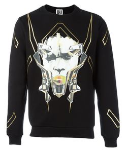 Les Hommes Urban | All Over Print Sweatshirt