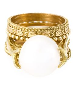 Wouters & Hendrix Gold | Pearl Set Of Rings