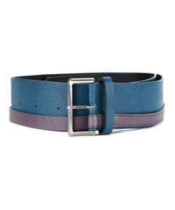 Mikio Sakabe | Colour Block Wide Belt