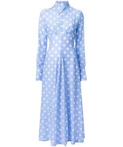 Jenny Fax   Polka Dot Long Dress