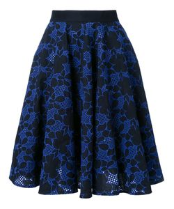 Mikio Sakabe | Embroidered Pleated Skirt