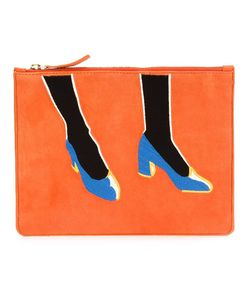 Lizzie Fortunato Jewels | Shoes Print Clutch