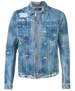 Amiri | Distressed Denim Jacket Xl