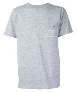 Saturdays Surf Nyc   Logo Chest Pocket T-Shirt