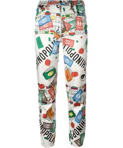 Moschino Vintage | Monopoly Print Trousers