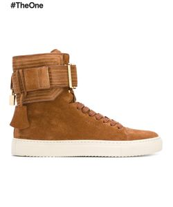Buscemi   Ankle Strap Hi-Top Sneakers Adult Unisex 10