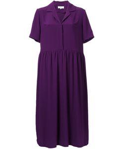 Carven | V-Neck Shirt Dress 38