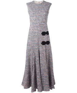Alessandra Rich | Sleeveless Long Tweed Dress 40
