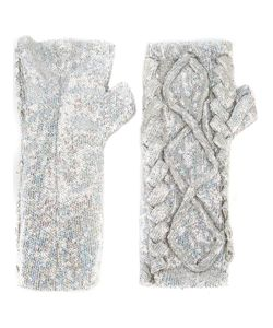 Filles A Papa | Erin Sequin Embellished Fingerless Gloves 42