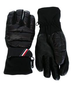 Moncler Grenoble | Padded Gloves Large Polyamide/Polyester/Leather