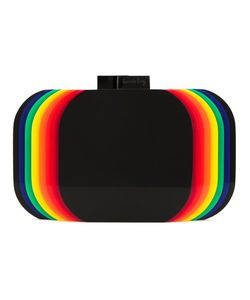 Sarah's Bag | Rainbow Layered Clutch Bag