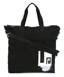 Rick Owens DRKSHDW | Patch Detailed Tote Cotton
