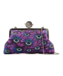 Sarah's Bag | Eye Embroidery Clutch Bag