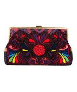 Sarah's Bag | Paisley Embroidery Clutch Bag