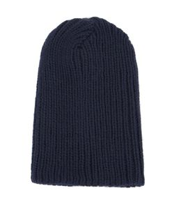 The Elder Statesman | Ribbed Beanie Alpaca