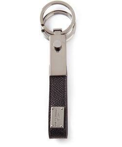 Dolce & Gabbana | Dauphine Key Ring Calf Leather/Metal Other