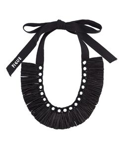 Figue | Raffia Necklace