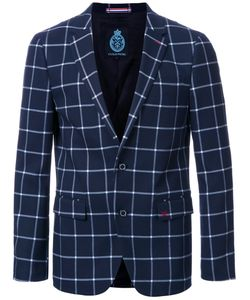 Guild Prime   Checked Single Breasted Blazer 3 Polyester
