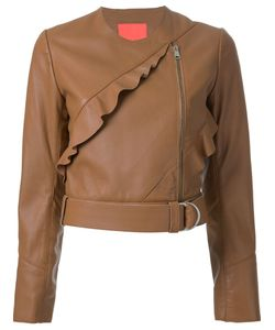 Manning Cartell | Frill Detail Jacket 6 Leather