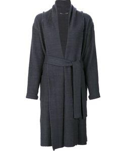 Denis Colomb | Waist Tie Wrap Coat Women Small Cashmere/Camel