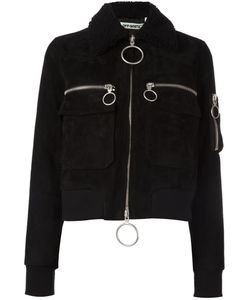 Off-White | Aviator Bomber Jacket Women Small