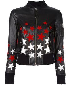 Htc Hollywood Trading Company | Star Patch Bomber Jacket Medium